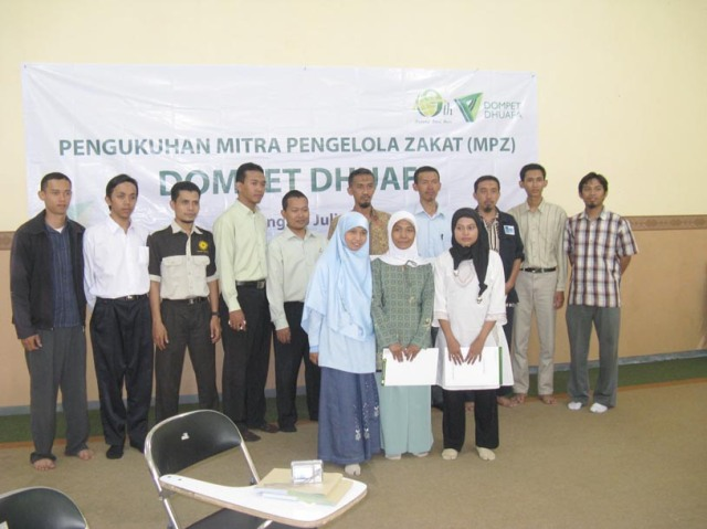 pengukuhan MPZ DD Jatim _ Malang, 10 Juli 2012
